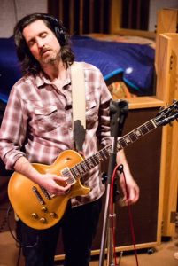 Scott Sharrard during FAME Studios session with Duane Allman's Goldtop